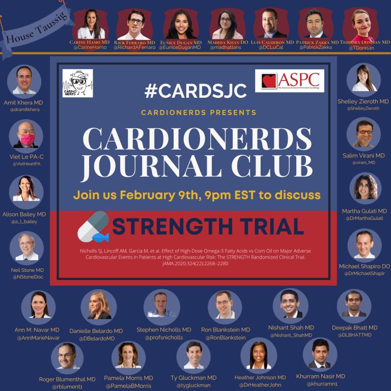 STRENGTH Trial CardioNerds Promo