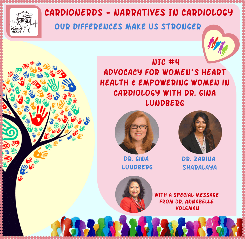 112. Narratives in Cardiology: Advocacy for Women's Heart Health and Empowering Women in Cardiology with Dr. Gina Lundberg