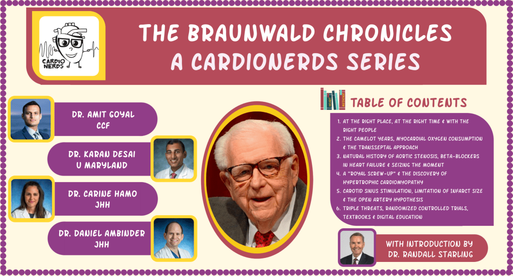 The Braunwald Chronicles - Table of Contents