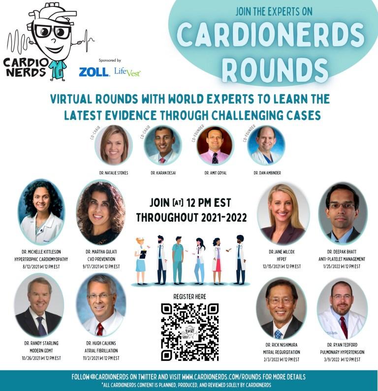 CardioNerds Rounds Promo 8.2021