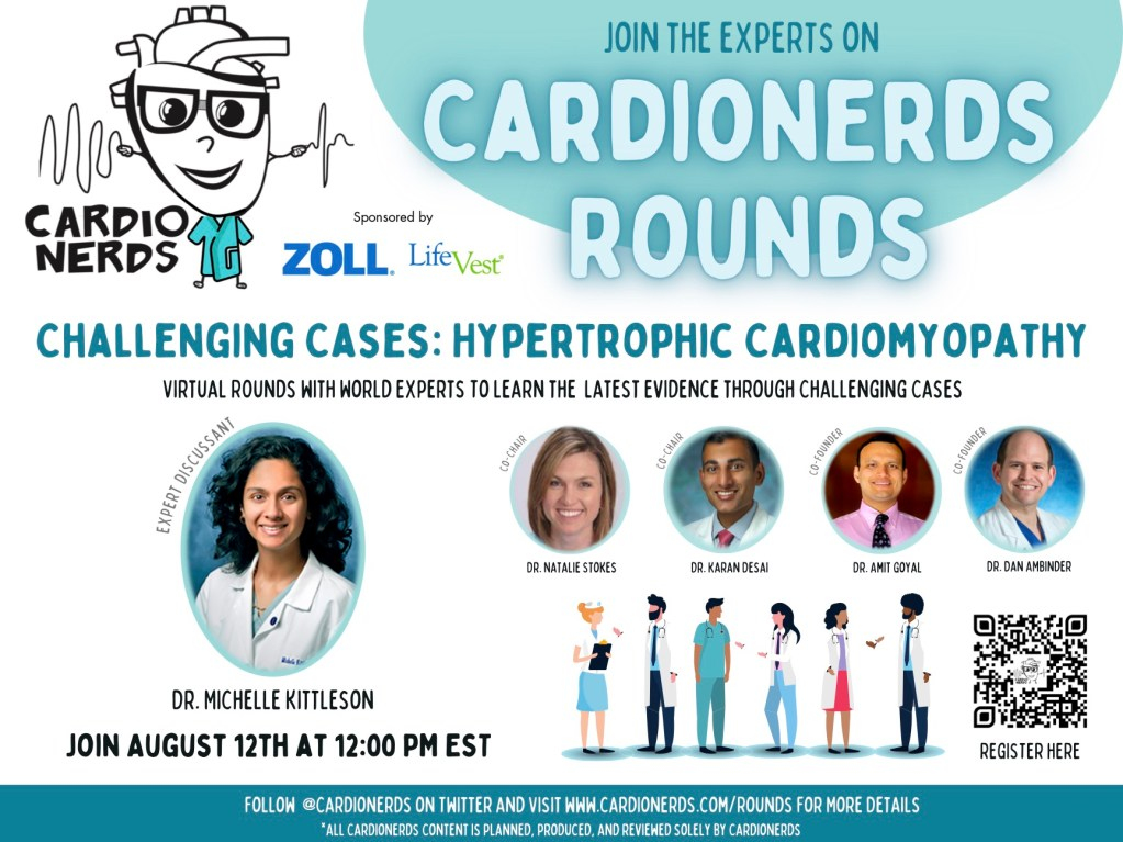 CardioNerds Rounds Hypertrophic Cardiomyopathy with Dr. Michelle Kittleson