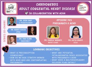 145. ACHD: Pregnancy and Congenital Heart Disease with Dr. Carole Warnes