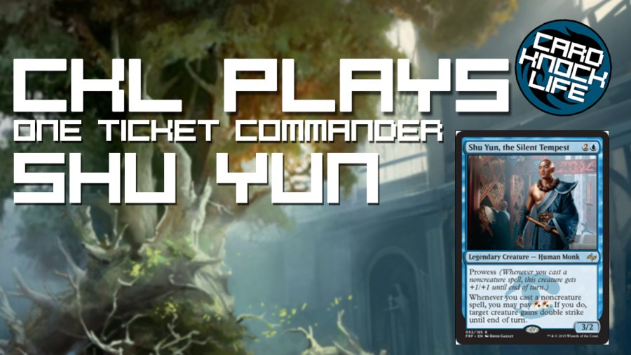 CKL Plays (One Ticket Commander) Shu Yun, the Silent Tempest