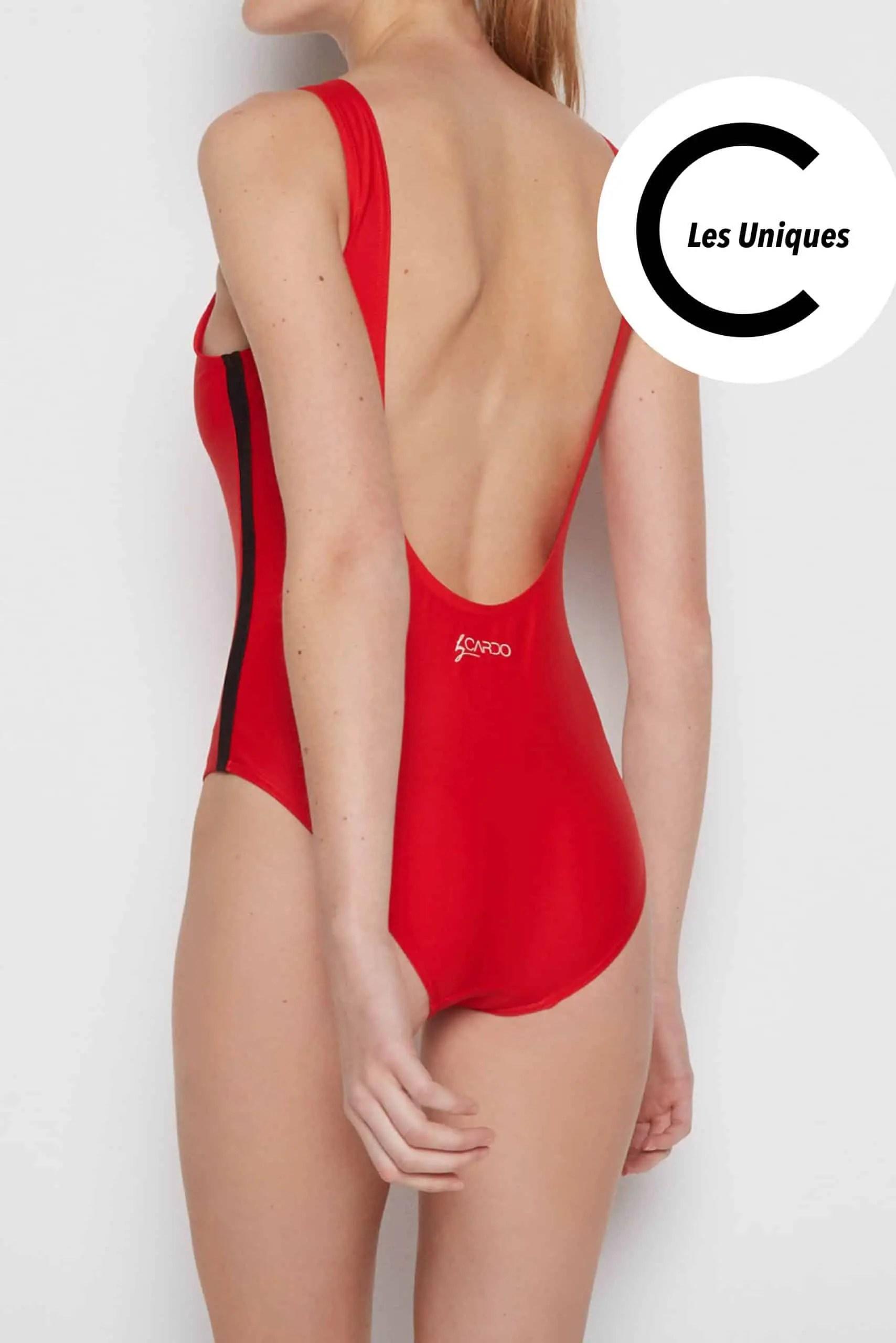 CARDONU CARDO Paris maillot de bain swimwear piscine plage gainant sculptant Uniques