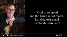 "Beit Boyer Lecture: ""God is not Good"""