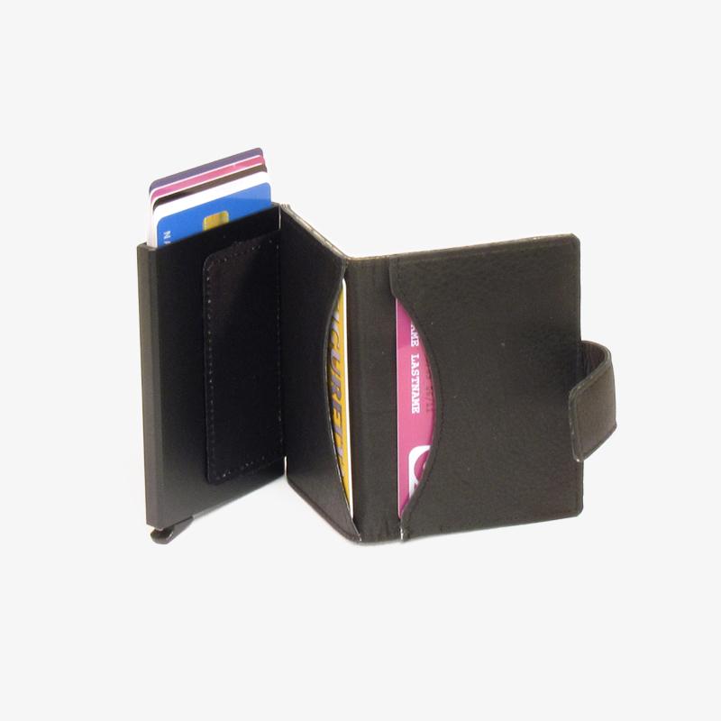 Figuretta - Slim Zwart Leder