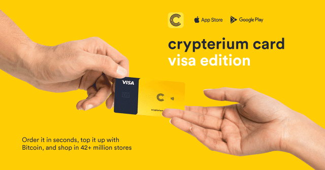 Crypterium Card Visa Edition