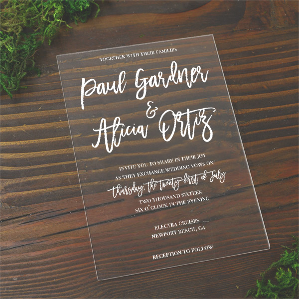 Rustic Wedding Invitation Maker