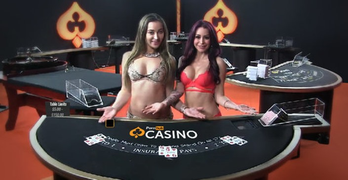 PornHub Online Strip Poker And Casino Games Now Offered At