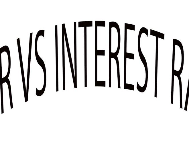 APR Vs Interest Rates
