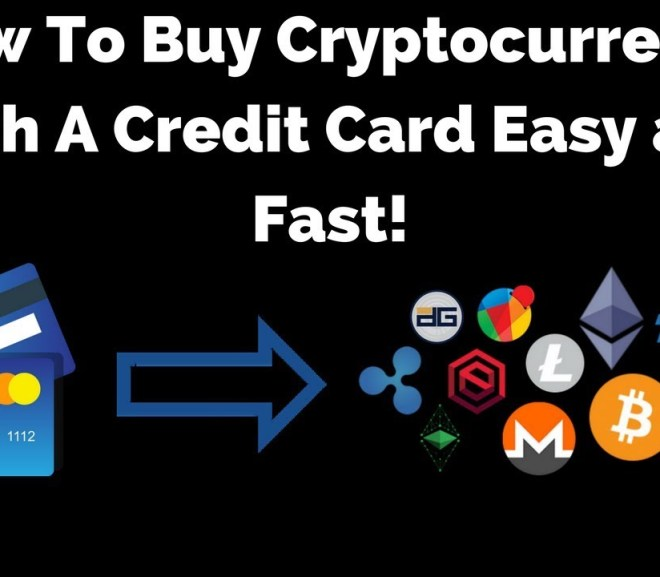 Cryptocurrency/ How Do I Purchase it With My Credit Card?