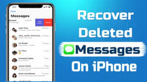 Deleted text messages