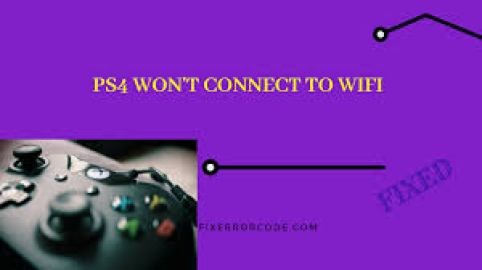 PS4 won't connect to WiFi