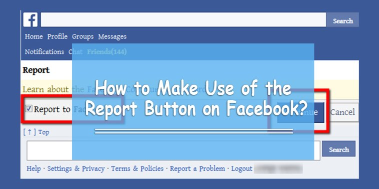 Report Someone On Facebook