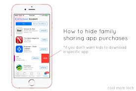 Hide Purchases in Family sharing {with easy steps}