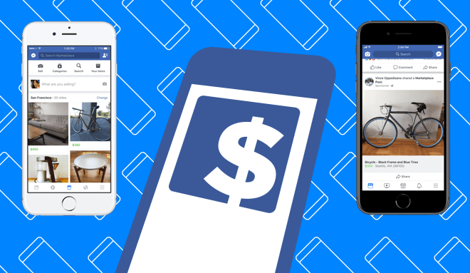 Facebook monetize Marketplace