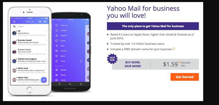Yahoo Mail For Business