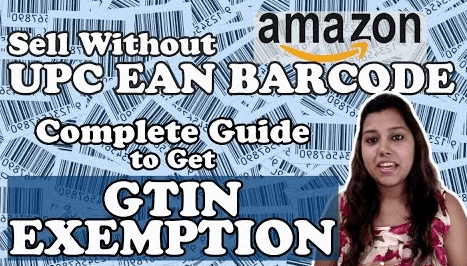 Sell product on amazon without UPC
