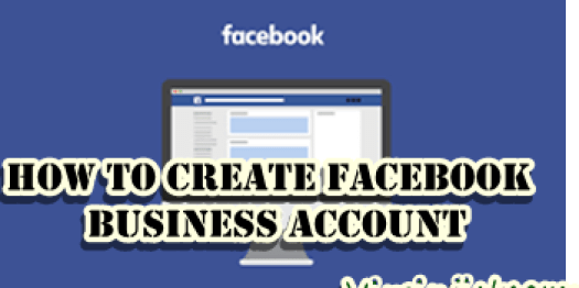 facebook business account create