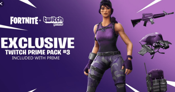 Twitch Prime Fortnite