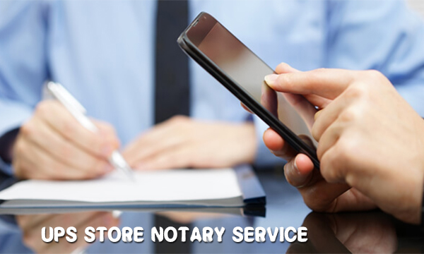 Ups Store Notary Service