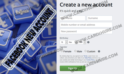 Facebook New Account – Facebook New Account Registration | Create New Facebook Account