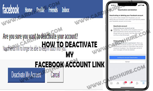 How to Deactivate My Facebook Account Link - Delete Facebook Forever | Delete my Facebook