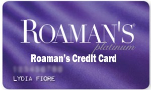 Roaman's Credit Card - Application and Activiation Roaman's Credit Card