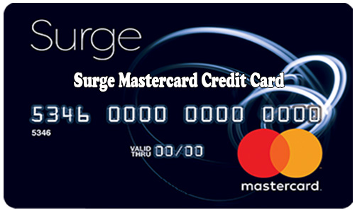 Surge Mastercard Credit Card - How to Apply for Surge Mastercard Credit Card