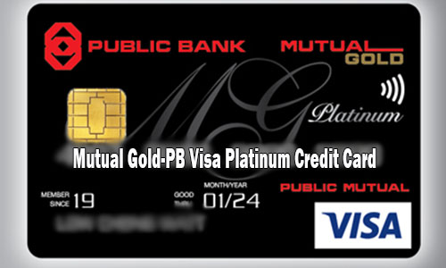 Mutual Gold-PB Visa Platinum Credit Card - How to Apply for Mutual Cold PB Credit Card