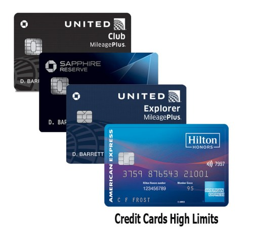 Credit Cards High Limits