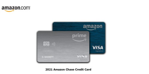 2021 Amazon Chase Credit Card