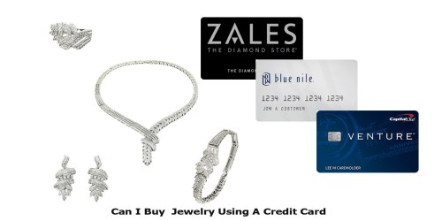 Can I Buy Jewelry Using A Credit Card