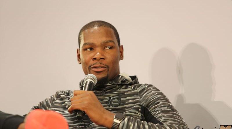 Kevin Durant conférence de presse