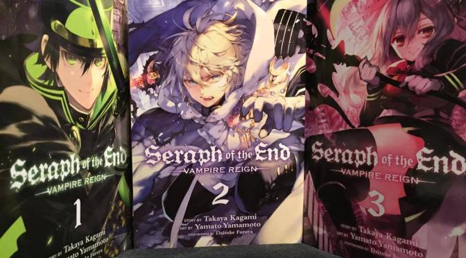 [All In or Fold?] Seraph of the End: Vampire Reign Vol. 1-3