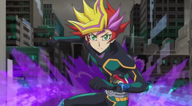 [Review] Yu-Gi-Oh! VRAINS – Episode 1