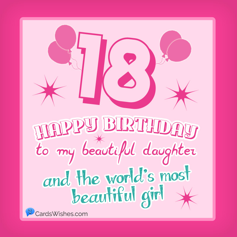 Happy 18th Birthday Wishes For 18 Year Old Boy Or Girl