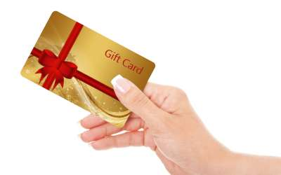 Gift Cards for the Holidays in a SNAP