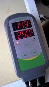 Testing the temperature controller