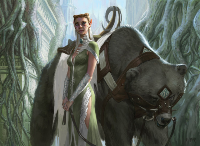 640x467_15080_Yeva_Nature_s_Herald_2d_fantasy_bear_girl_woman_elf_magic_the_gathering_picture_image_digital_art