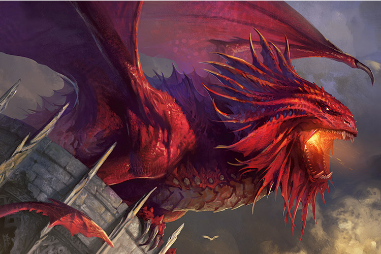 Niv-Mizzet, the Firemind | Art by Svetlin Velinov