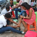 YEE Creating Awareness about Epilepsy - Shoe Shine (5)