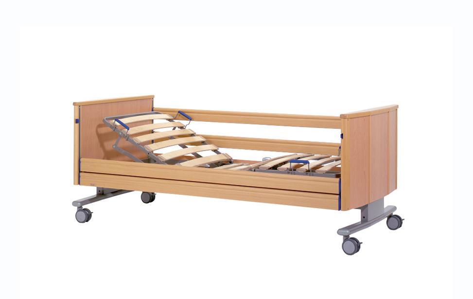 Ancona with wooden slat lying surface