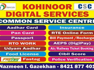 Kohinoor Digital services
