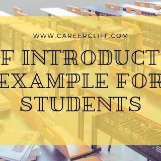 creative self introduction example for students in english