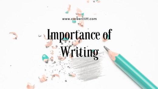 importance of writing