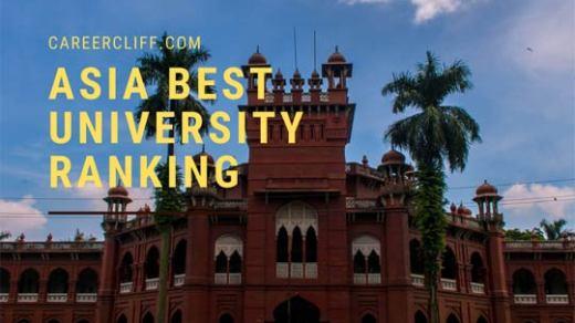 Asia best university ranking