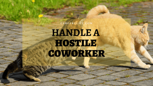 dealing with hostile coworkers effectively