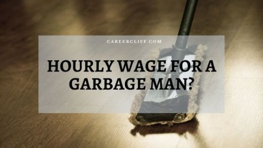 garbage man wage