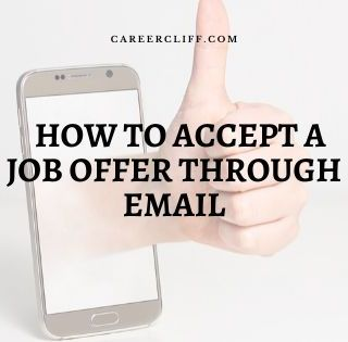 How to acknowledge a job offer through email